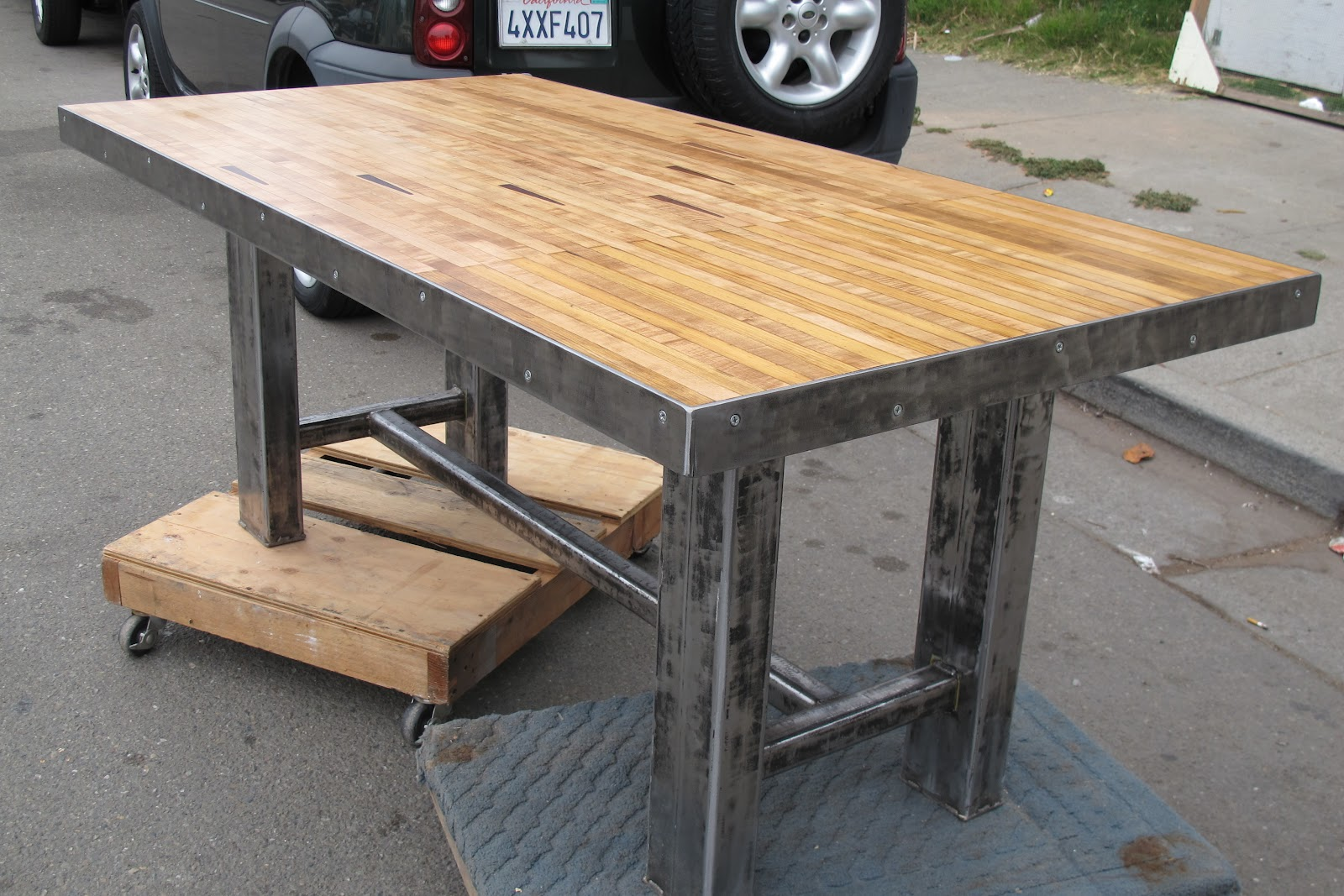 Redwood Slab Dining Table Thick Wood Kitchen Tables Types Of Wood