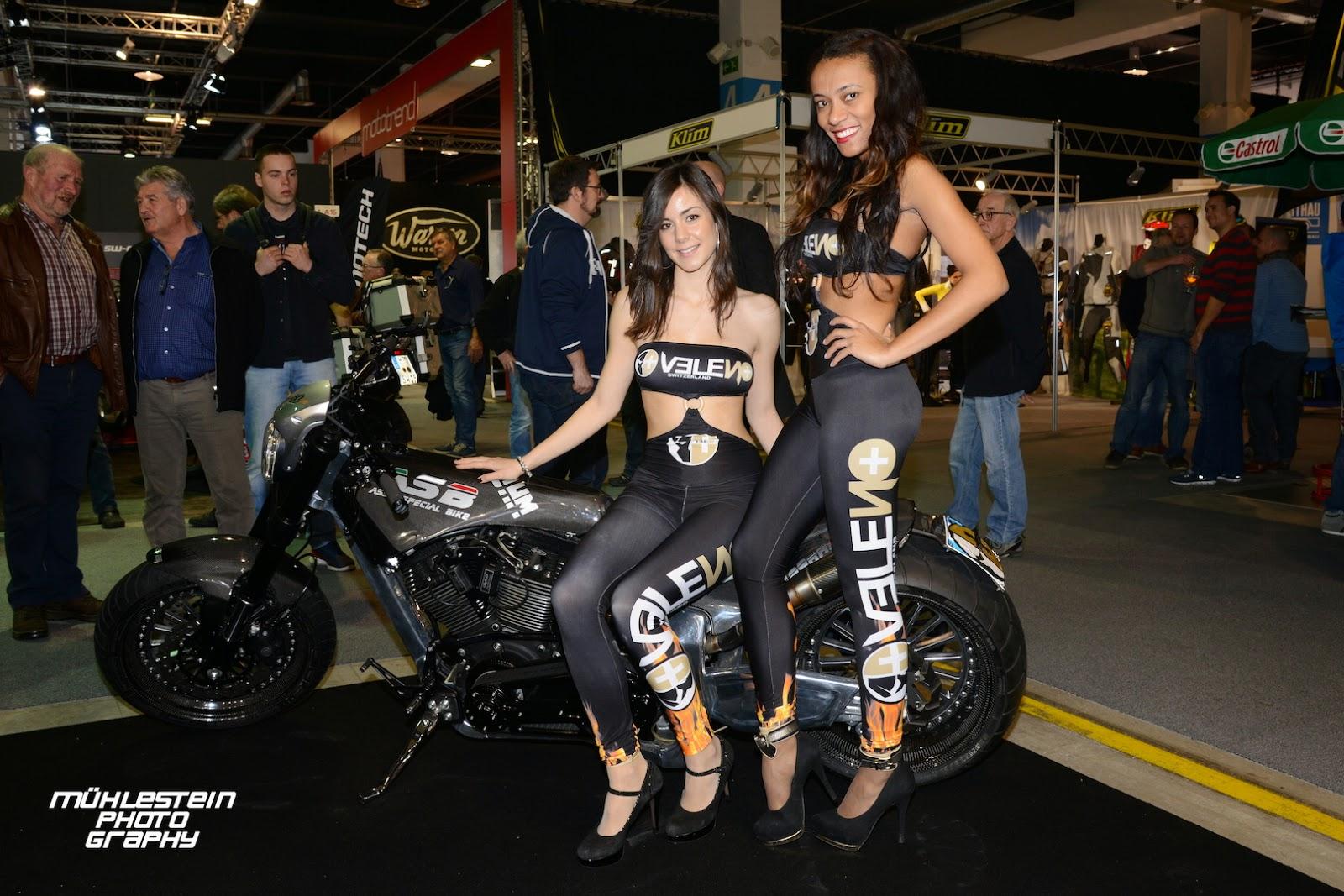 swiss moto 2015_swiss custom customizing tuning show_veleno girls_part 2 - Moto Tuning