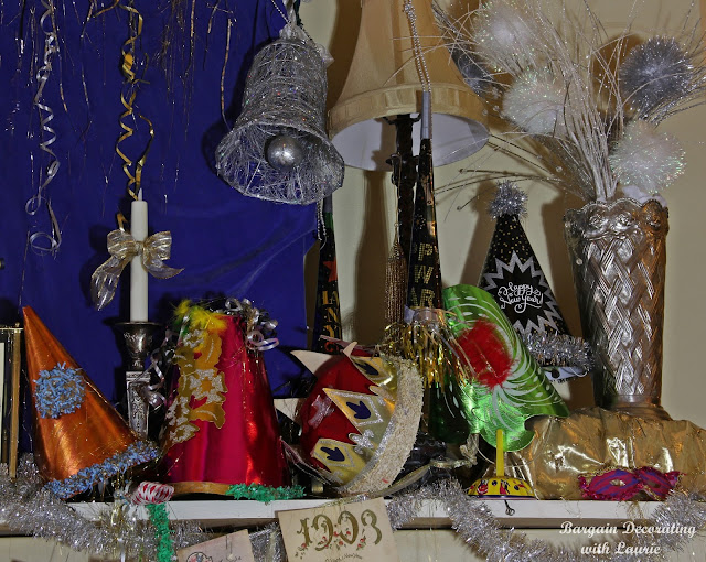 New Years Decor-Bargain Decorating with Laurie