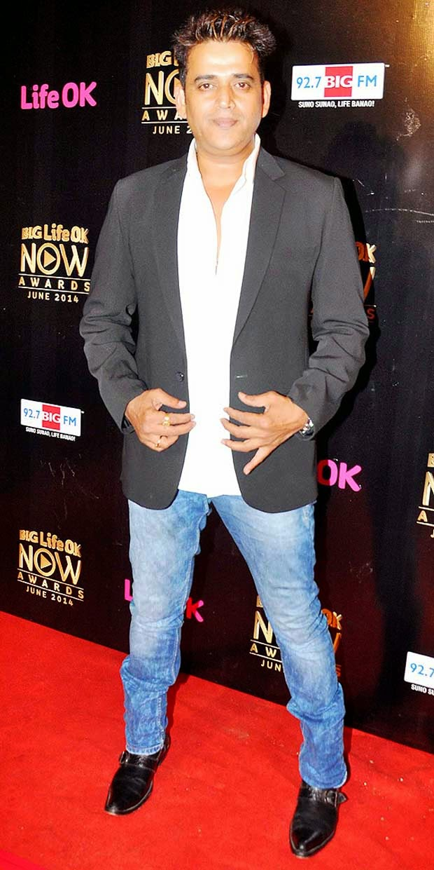 Ravi Kishan At Life Ok Now Awards 2014