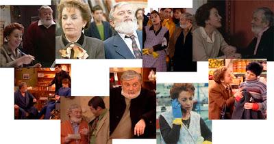 Vázquez e Casal eran Ramón Couto e Celia Rei en Mareas Vivas