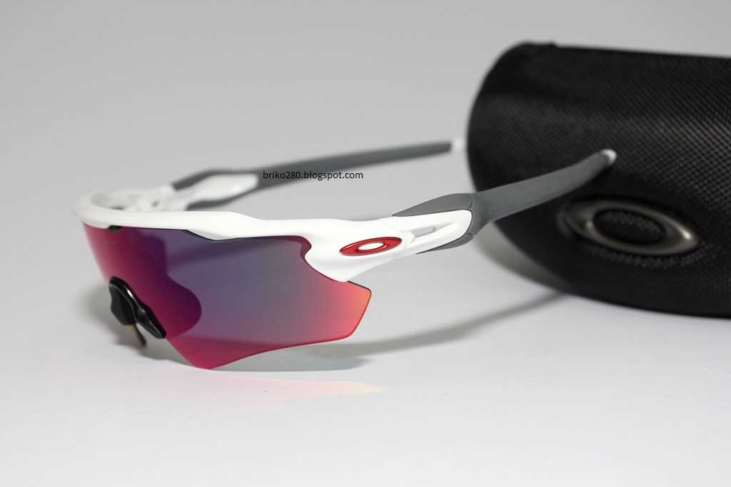 Cheap Oakley Radar Black White Frame Colorful Lens
