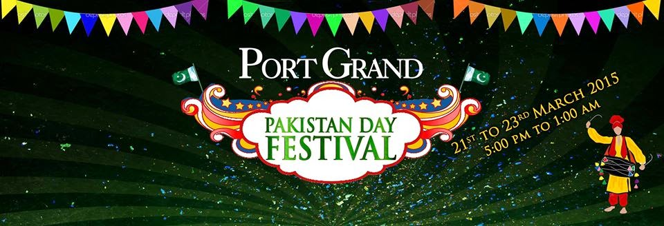 port grand festival pakistan day
