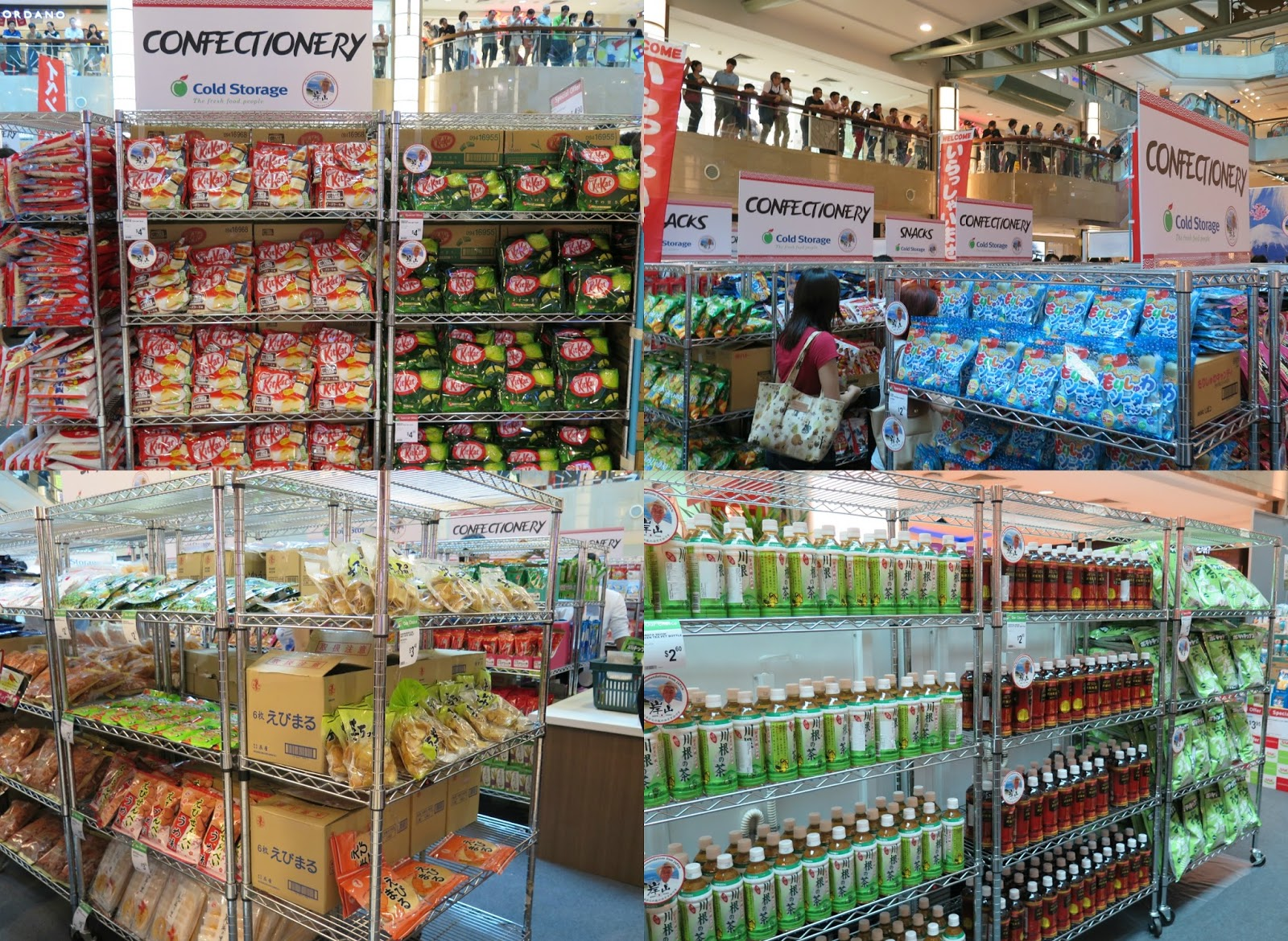 ... gourmet items were specially brought into Singapore and will be on the shelves of selected Cold Storage MarketPlace and Jasons stores after the fair. & Shizuoka Food Fair 2015 - Flavours Of Japan By Cold Storage | NEW ...