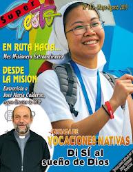 Jóvenes en ruta hacia el Mes Misionero Extraordinario