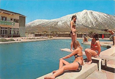 Pico del Teide, Teneriffa, Spanien, Bikini-Trend