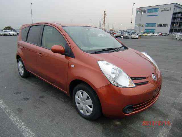 abir car selection nissan note 2007 orange 1500. Black Bedroom Furniture Sets. Home Design Ideas