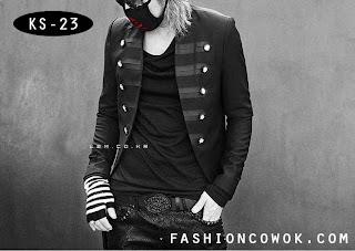 Black Korea Style Blazer