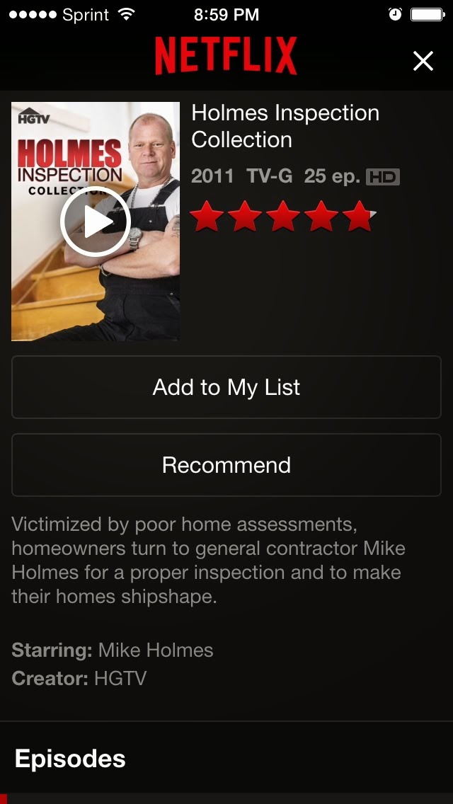 how to delete shows from netflix
