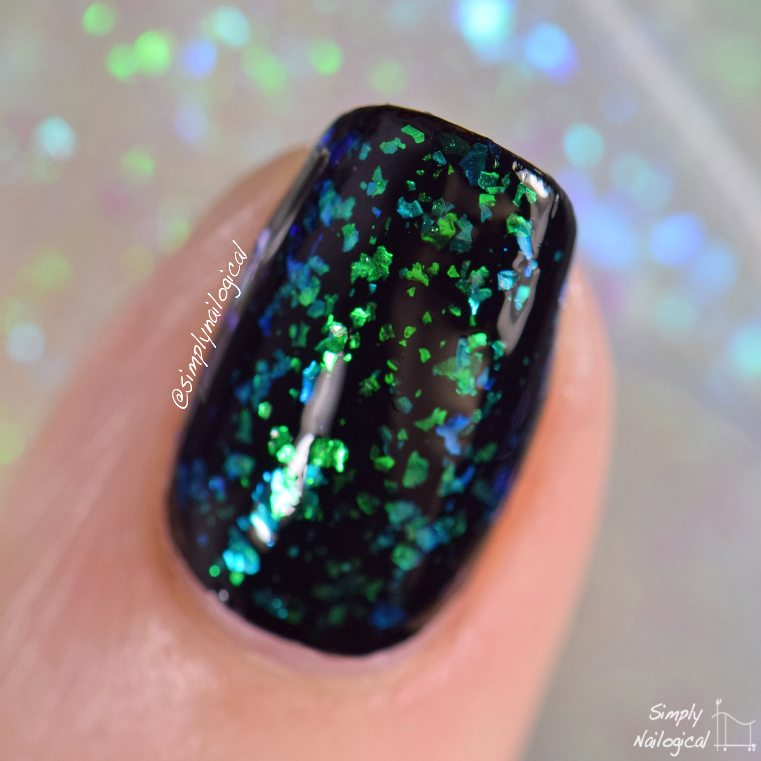 Painted Polish - Flake Ya Tailfeather