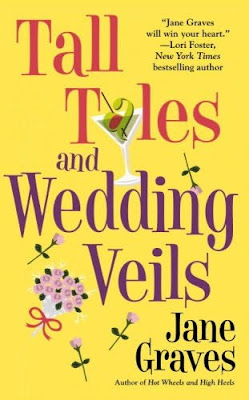 Book cover of Tall Tales and Wedding Veils by Jane Graves