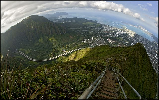 Kaneohe, Hawaii Stairs