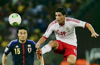 Video Highlights All Goals FIFA Confederation Cup 2014 Match, Mexico vs Japan 2-1