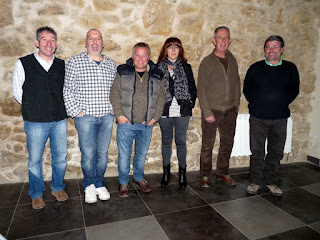 Junta directiva del grupo candelariense de montaña de candelario salamanca