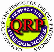 Respect the QRP frequencies