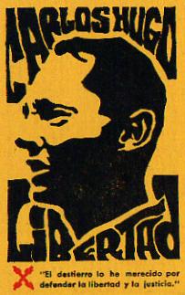 ¡Carlos Hugo Libertad!