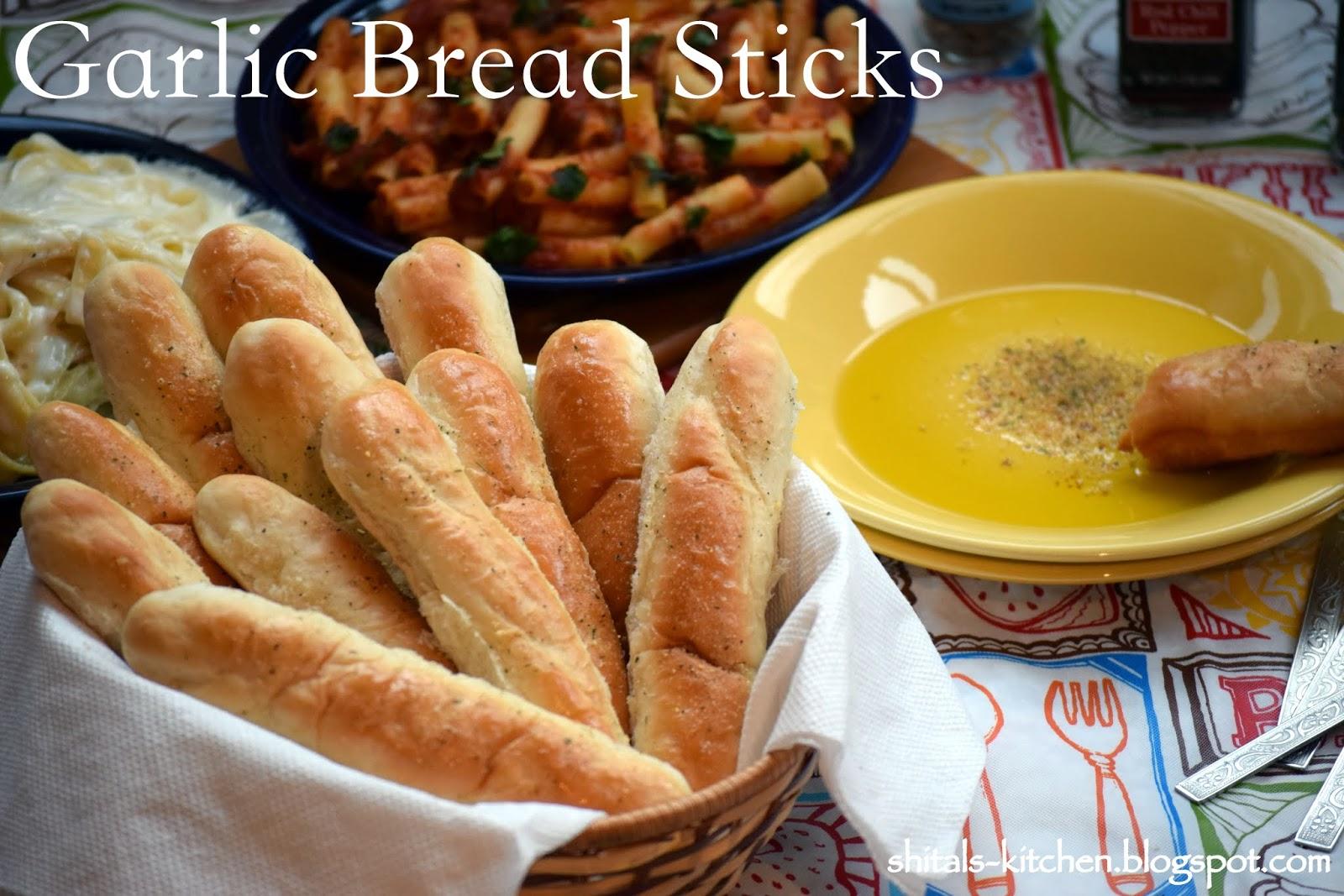 how to make garlic bread sticks