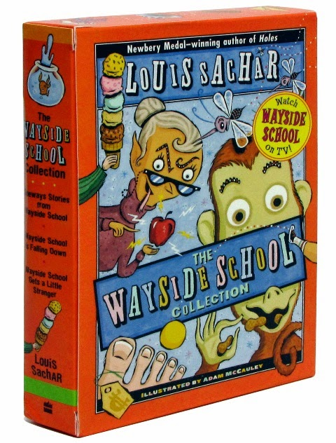 Image of three-book collection set about the Wayside School by Louis Sachar