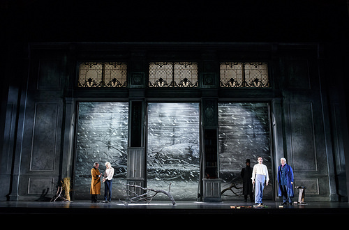 Kasper Holten's production Eugene Onegin at Royal Opera House © Photograph by Bill Cooper, ROH 2015