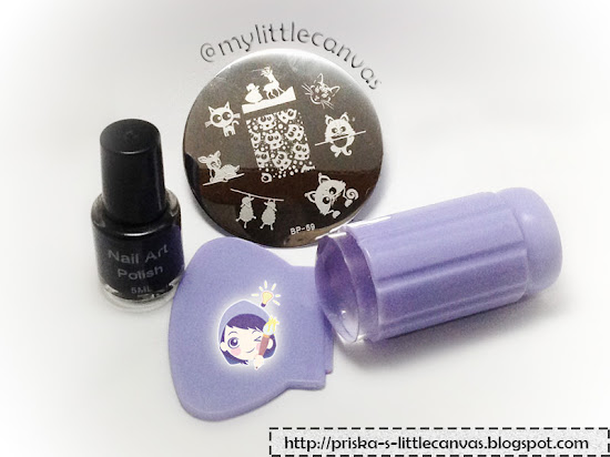 Stamping plates, polish, clear jelly stamper by Bornprettystore.com