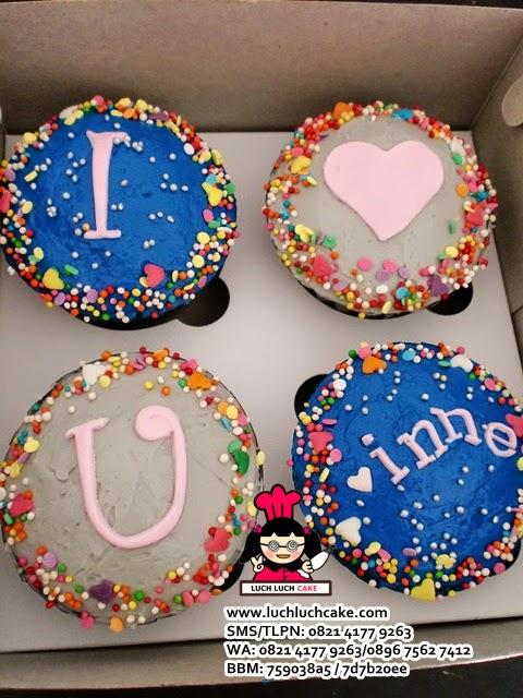 Cupcake Buttercream Romantis Daerah Surabaya - Sidoarjo
