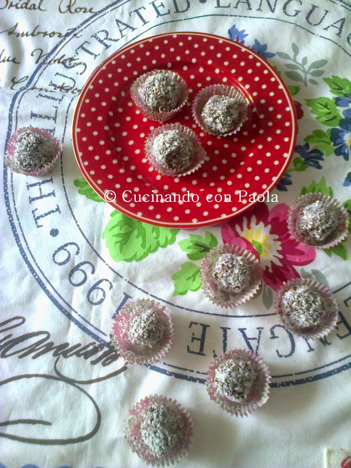 praline golose al cioccolato e nocciole