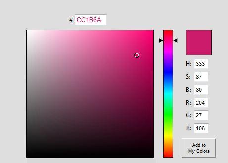Colorpicker Get Color Codes Online Ogbongeblog