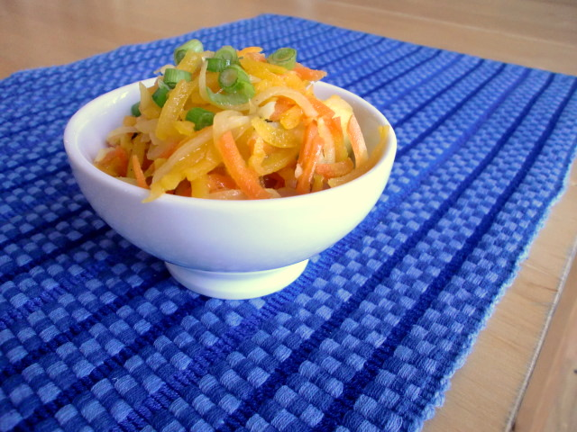 ... for a Year and Beyond: Sauteed Winter Slaw with Maple Vinaigrette