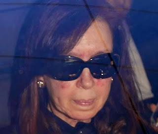 Cristina Fernández de Kirchner en la Fundación Favaloro