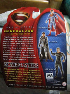 Superman, Movie Masters, Man of Steel, Movie, DC, General Zod, Kryptonite Armor, Phantom Zone, JLU, Justice League, New 52