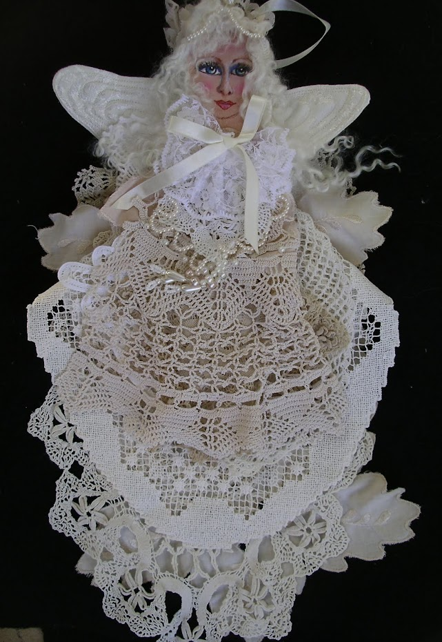Vintage lace angel