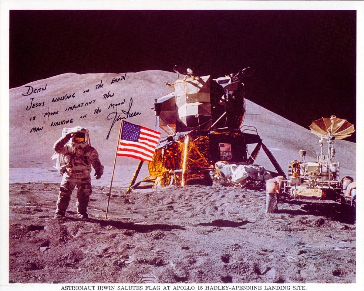 Astronaut Jim Irwin