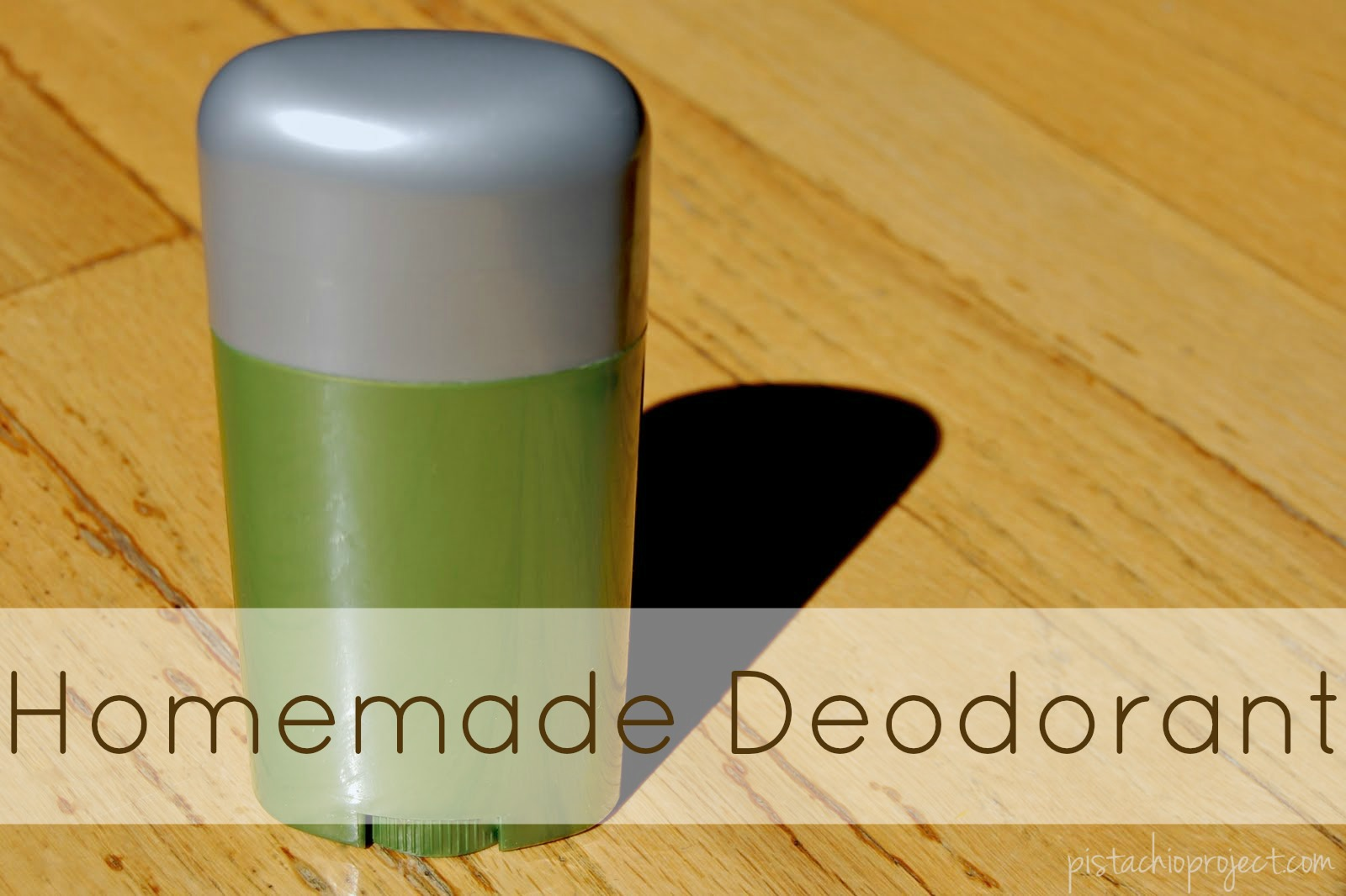 Homemade Deodorant - avoid the toxins! Making your own deodorant is so easy!