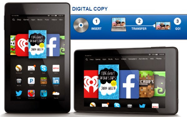 Kindle Fire HDX and Fire HD 6