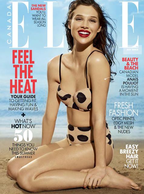 Fashion Model @ Anais Pouliot by Leda & St. Jacques for Elle Canada, July 2015