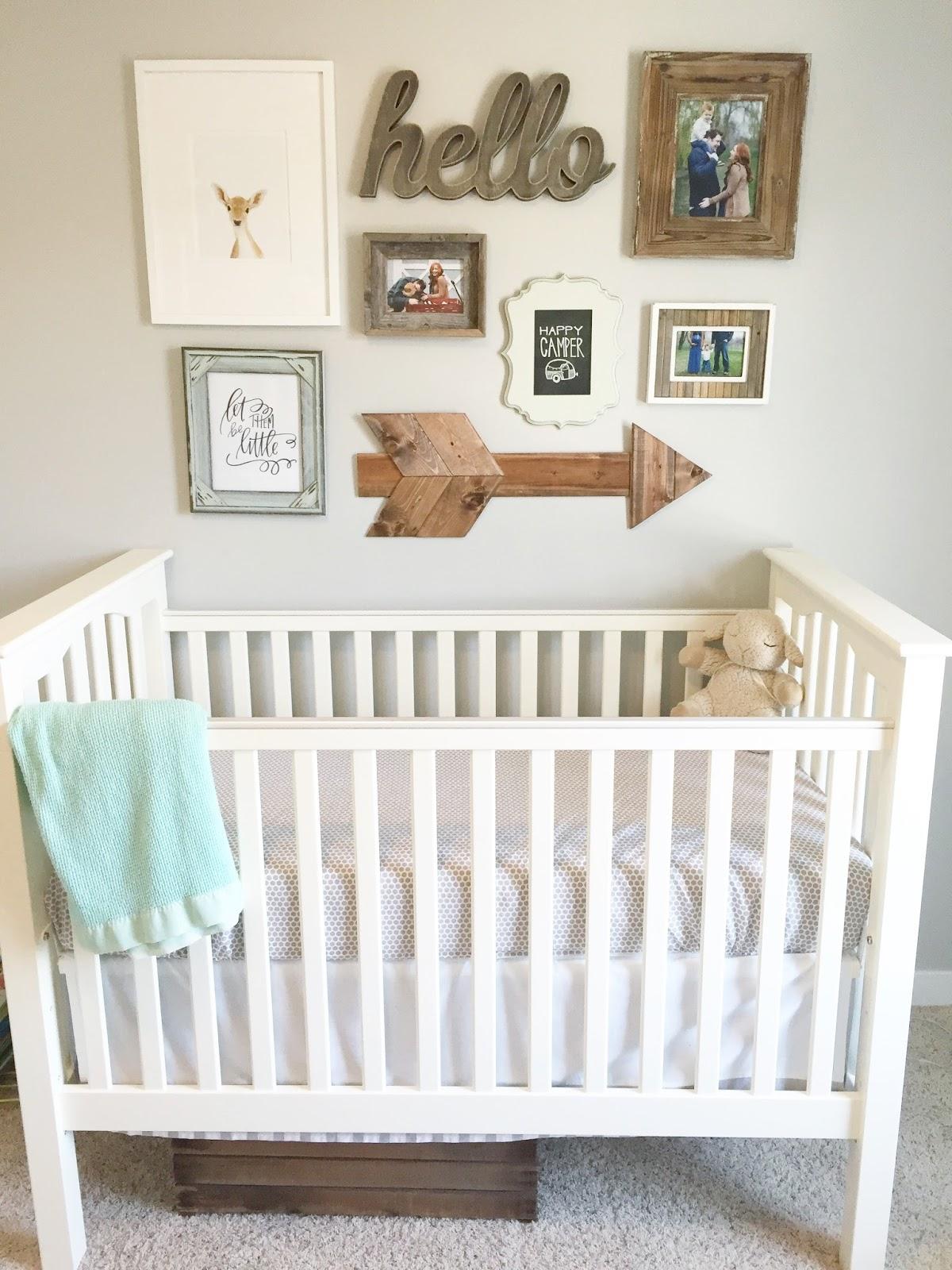 gender neutral nursery reveal the girl in the red shoes. Black Bedroom Furniture Sets. Home Design Ideas