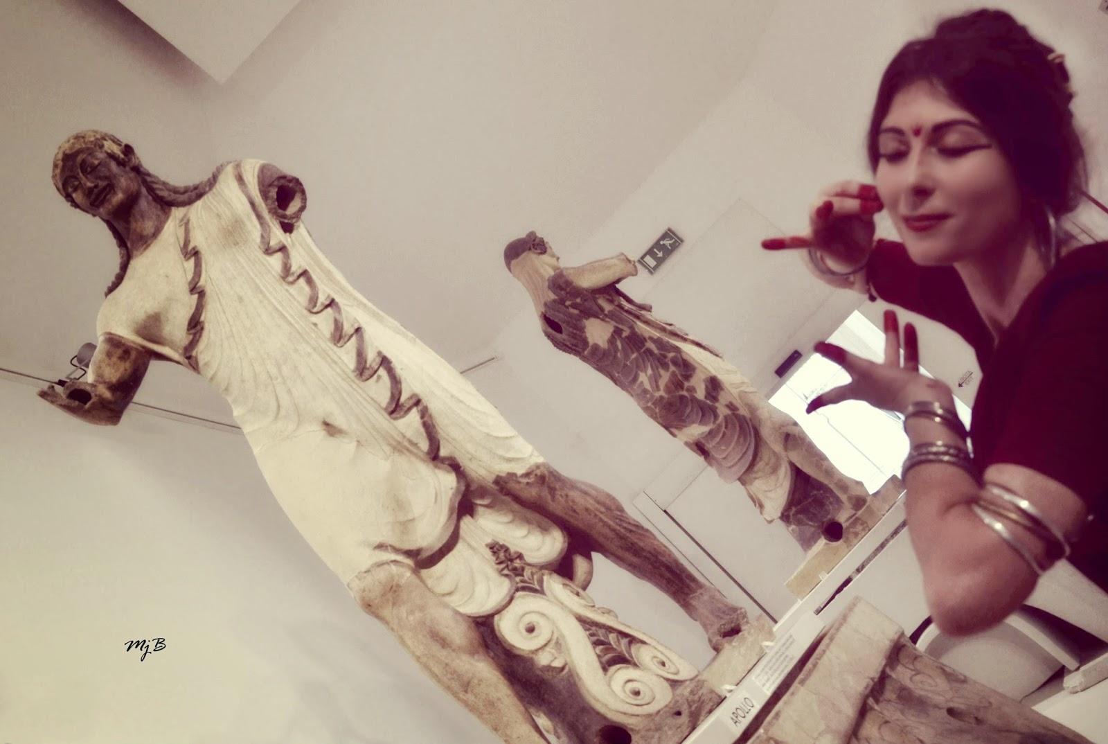Danza indiana Museo Roma