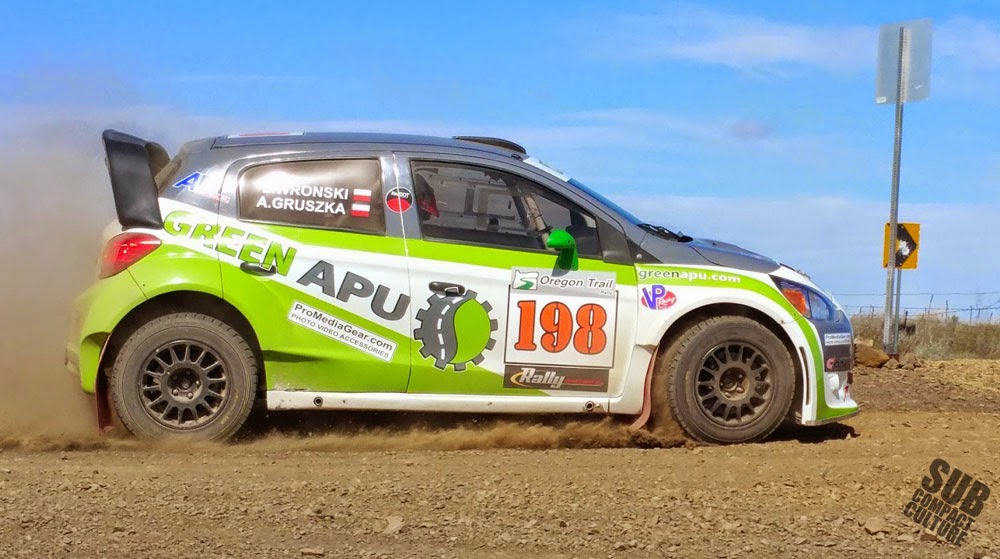 Mitsubishi Mirage Rally Car
