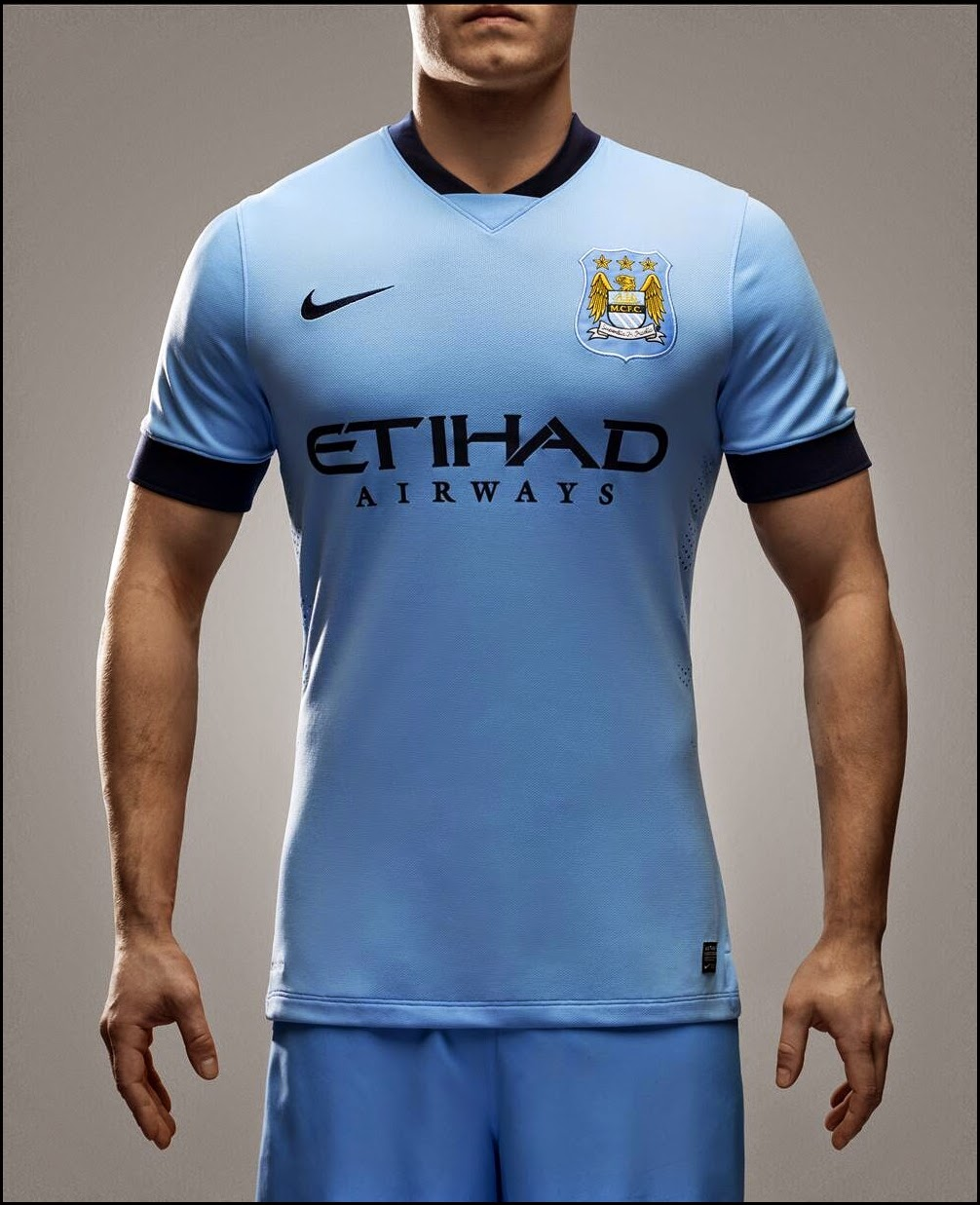 Jersey Bola PI Manchester City Home 2014-2015