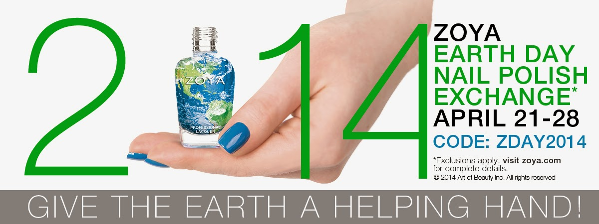 zoya earth day promotion sale