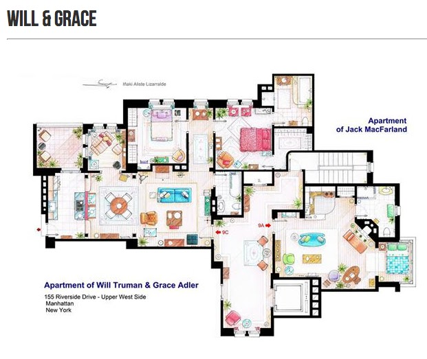 Fine Cinema Style Floor Plans Of The Fictitious Download Free Architecture Designs Rallybritishbridgeorg