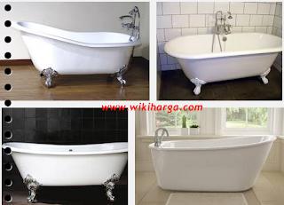 Daftar Harga Bathtub terlengkap