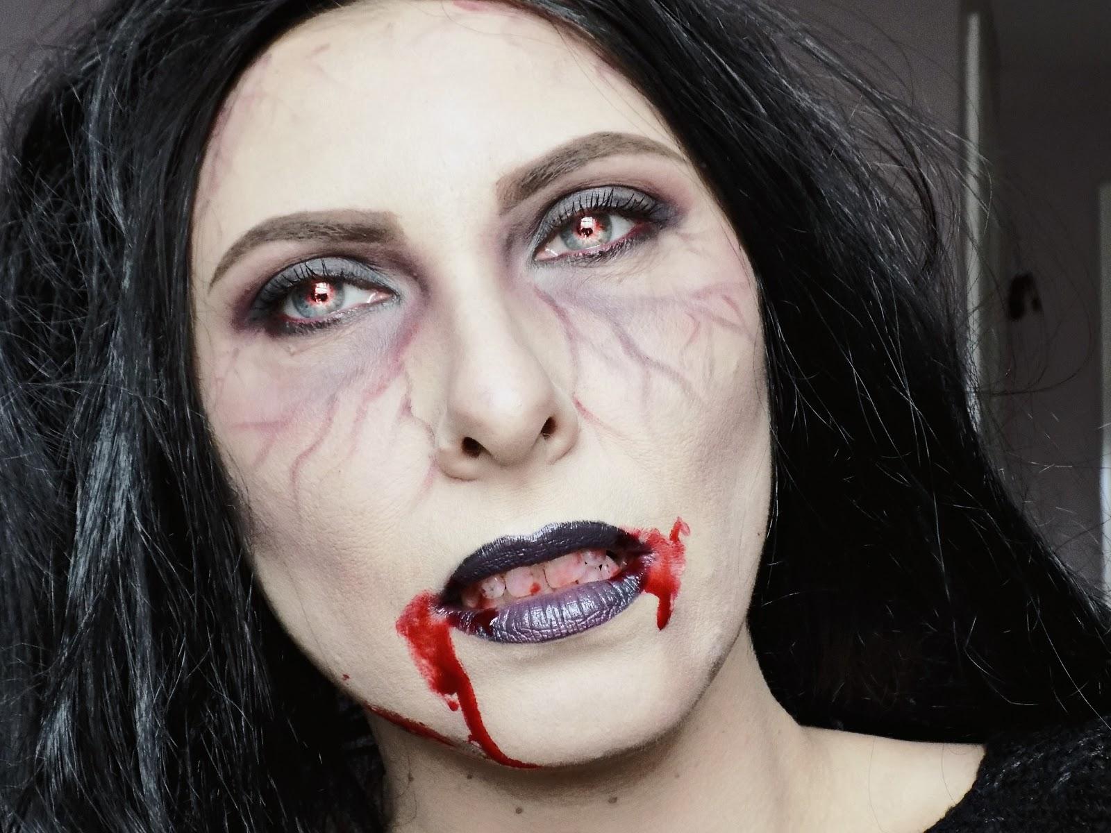 halloween very easy vampire look tutorial mummys