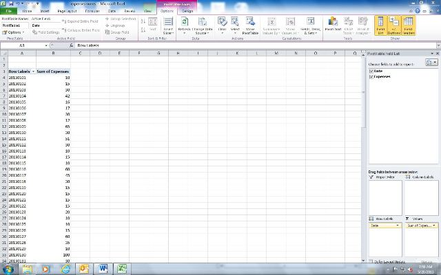 how to create expenses report in microsoft excel