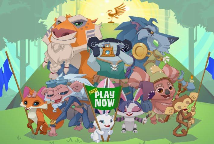 Play Animal jam!