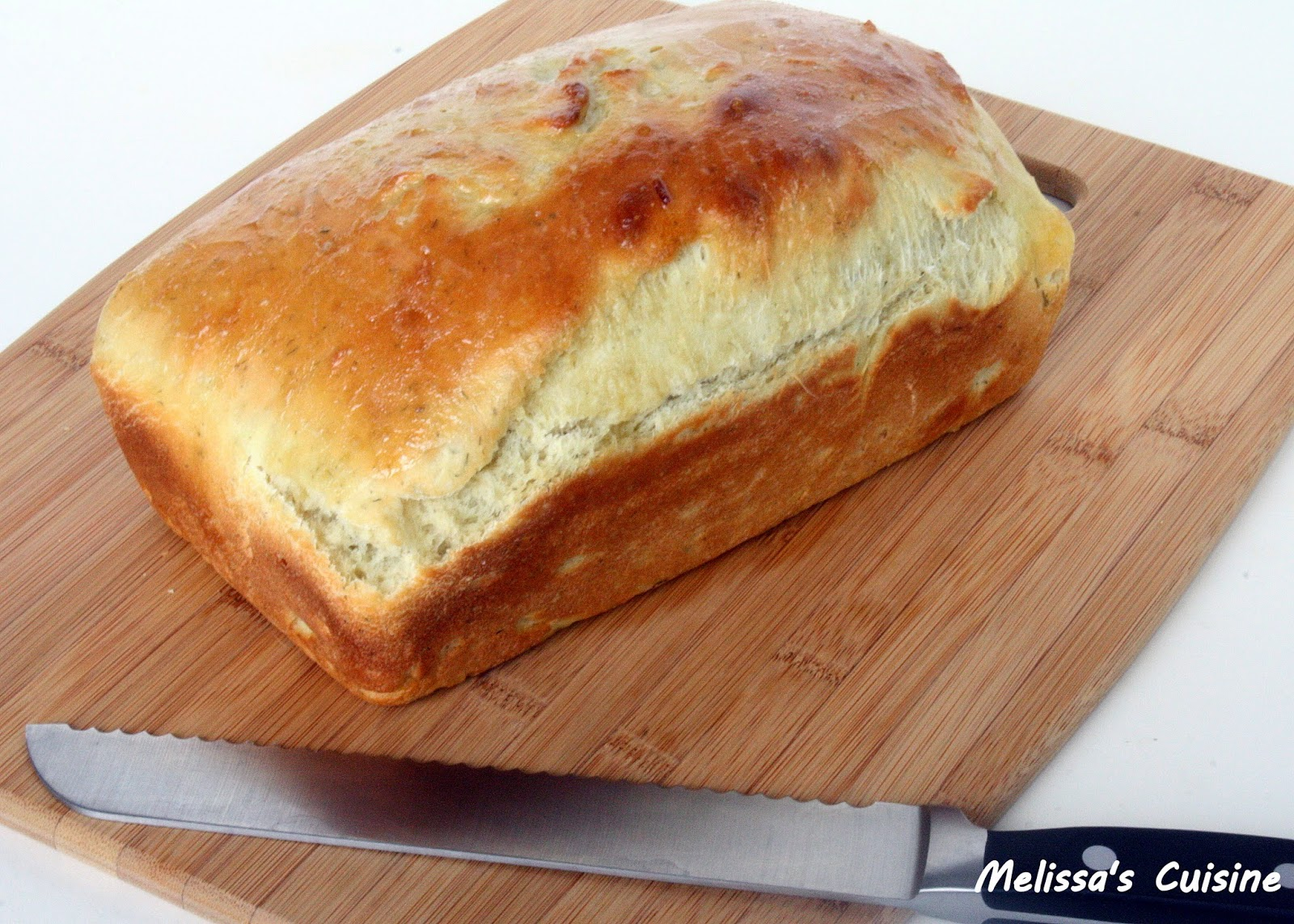 Melissa's Cuisine:  Dill Pickle Bread