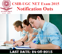 UGC NET Exam 2015