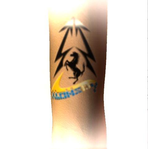 Tatuaje Fernando Alonso reflejo creative: diseño e imagen corporativa: tattoo fernando alonso