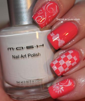 MASH Nails stamping