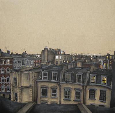 Daniel worth art rooftops at night for Epoca clasica
